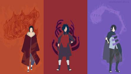 The Uchiha / Susanoo   Minimalist by Sephiroth508