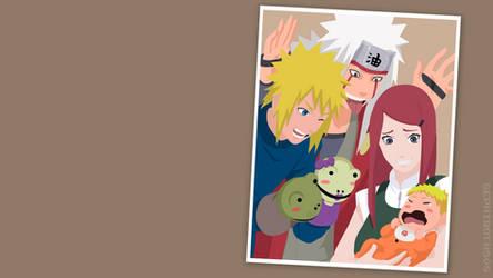 Uzumaki Family | Naruto | Vector