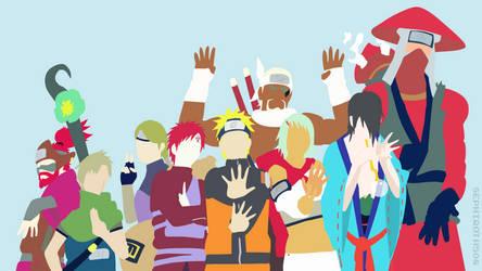 Jinchuuriki (Naruto Shippuden) | Minimalist