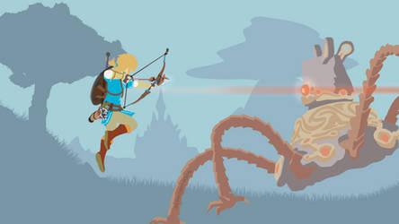 vs. Guardian | Legend of Zelda: Breath of the Wild