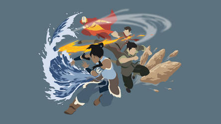 Avatar: The Legend of Korra | Minimalist