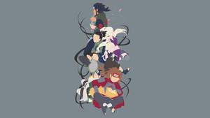 Team Asuna (Naruto / Naruto Shippuden) by Sephiroth508