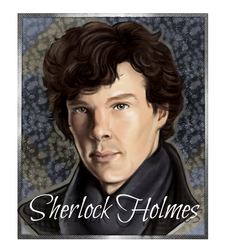 Sherlock Holmes Portrait by KKSlider7