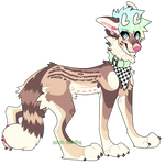 .:Deer doggo:. Adopt Auction - CLOSED