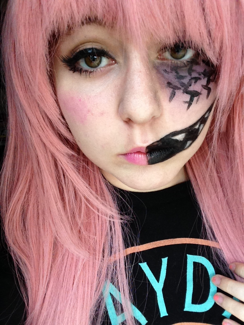 Cute Makeup Brushes: Creepy-cute Makeup By Kuni-i On DeviantArt
