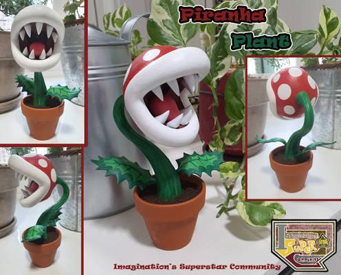 Clay Figure-Piranha Plant