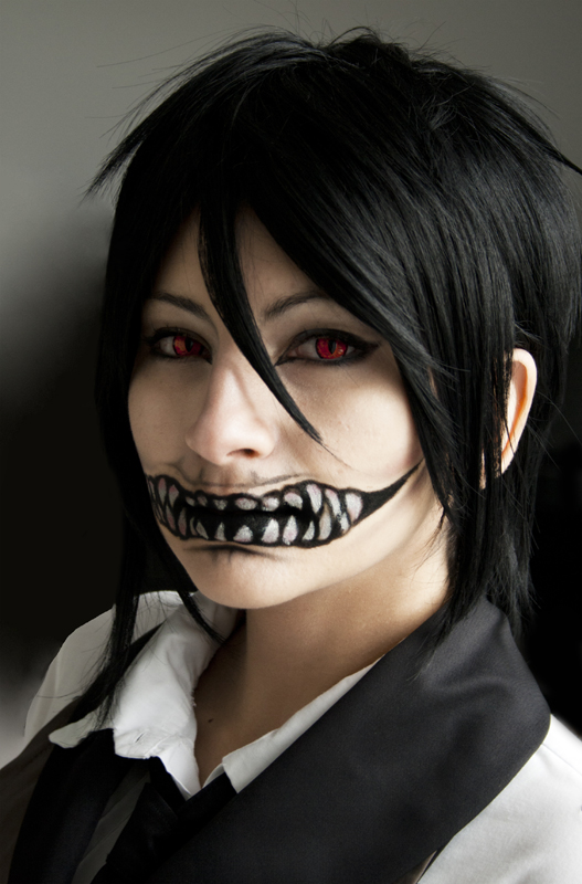Sebastian's devil smile by Tri-Heart on DeviantArt