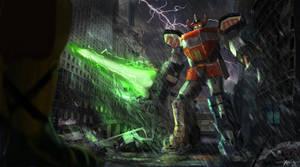Megazord by deepstriker