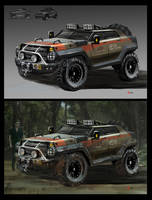 JP Park Services Vehicle by deepstriker