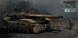 M61A6 Main Battle Tank