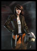 Jaina Solo by deepstriker
