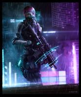 Cyberpunk PMC by deepstriker