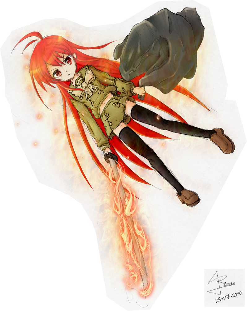 Shana del -All Shana01- by Renzo-ANIME-FAN