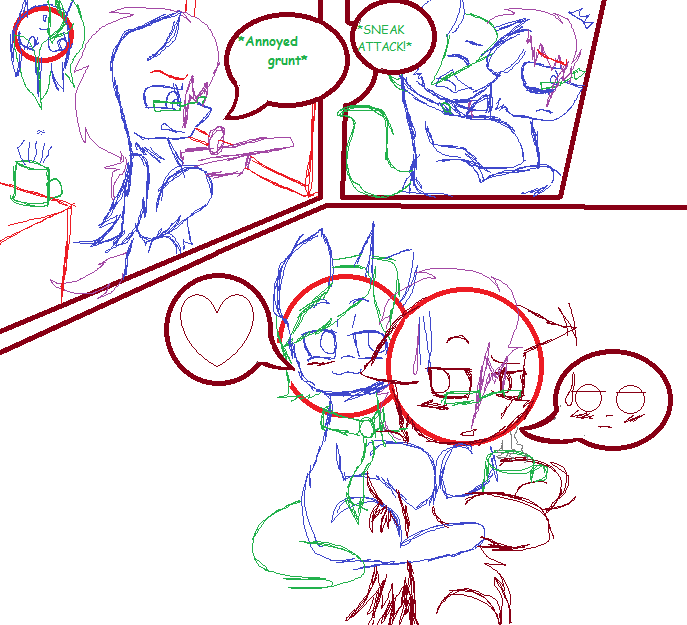 TF2/MLP Mini-comic [Discord Whooves x Master] WIP by ...