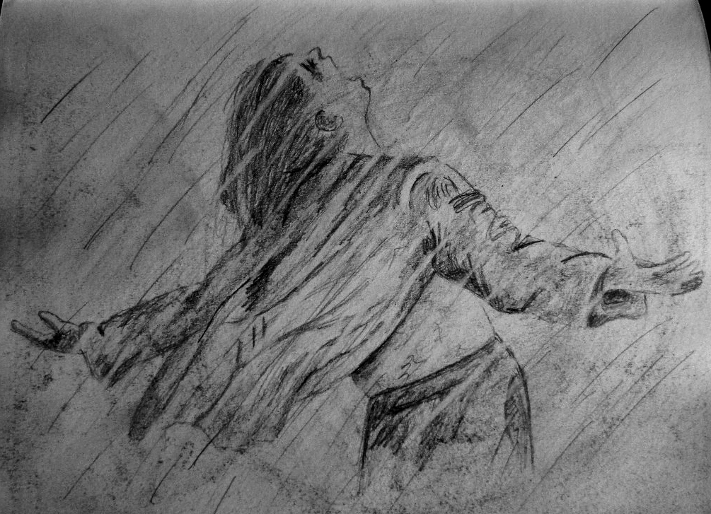 Rain Drawing ~Cami Neimann by Pallet1 on DeviantArt