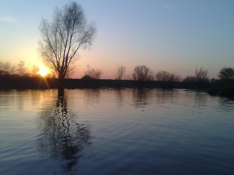 Sunset in Ukraine by Nick-D-Arctur
