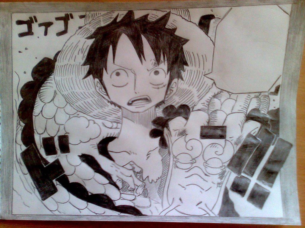 Luffy by Nick-D-Arctur