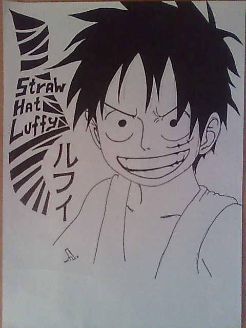 Monki D Luffy by Nick-D-Arctur