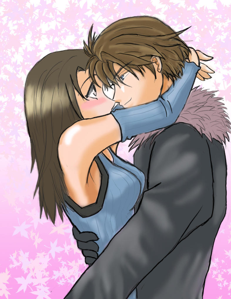 Squall And Rinoa Pictures Squall e Rinoa Love by