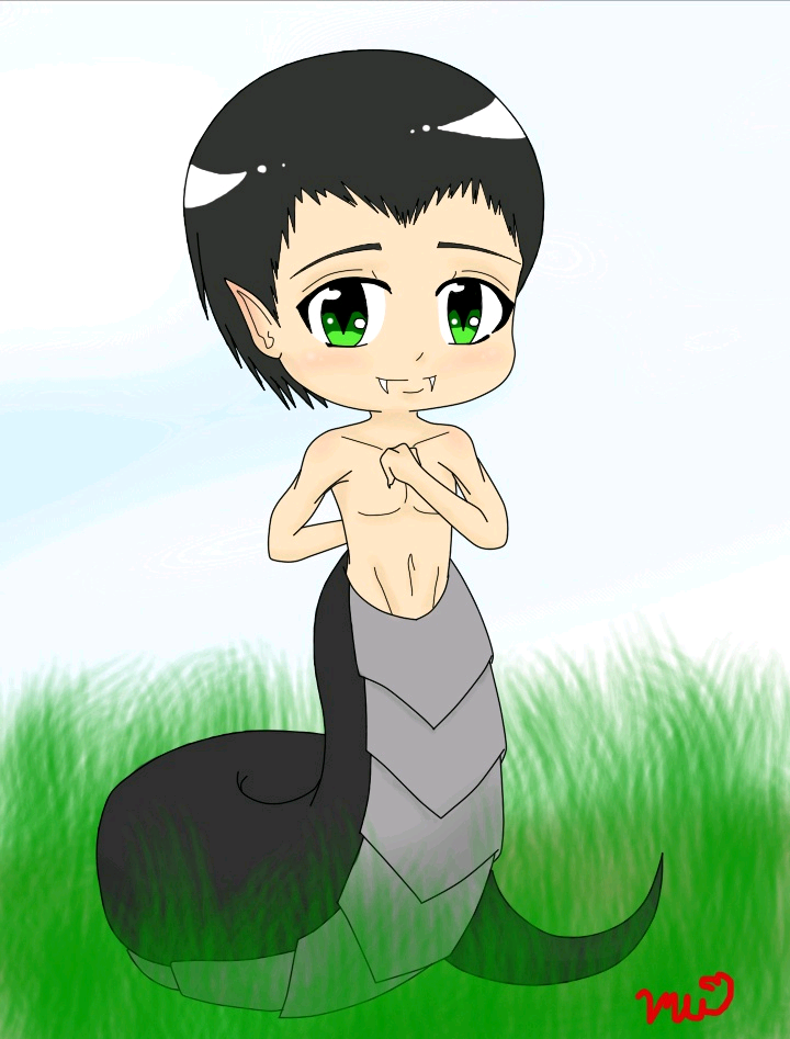 I am but a Humble Chibi .:AT:. by MikaChuGo
