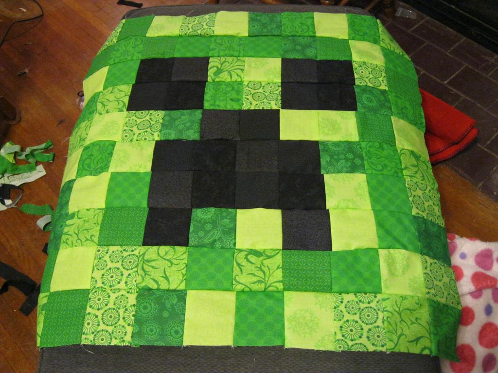 Creeper Quilt front by Blaknite on DeviantArt