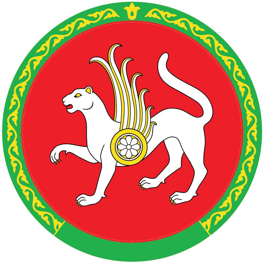 Correct coat of arms of Tatarstan by umeturro