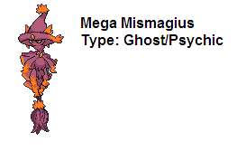Mega Evolution Mismagius by ZetaWolf242