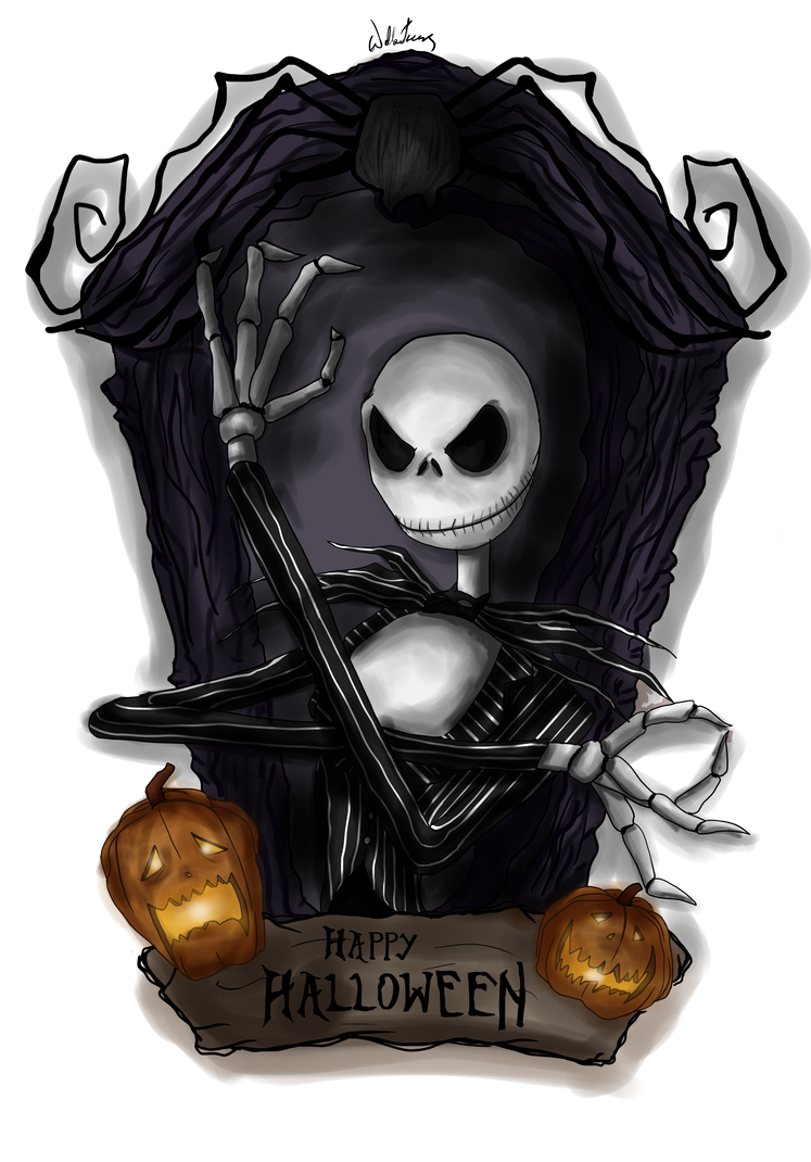 Halloween 2015 Jack Skellington by MicroPixels on DeviantArt