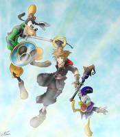 Kingdom Hearts 3 by MicroPixels