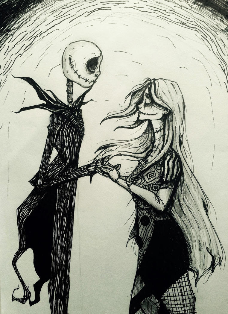 Jack and Sally by MicroPixels on DeviantArt