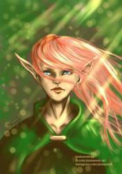 Elven's girl