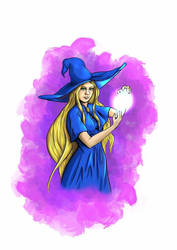 The witch, comic character