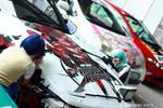Crimson Avenger Itasha by HioRiXD