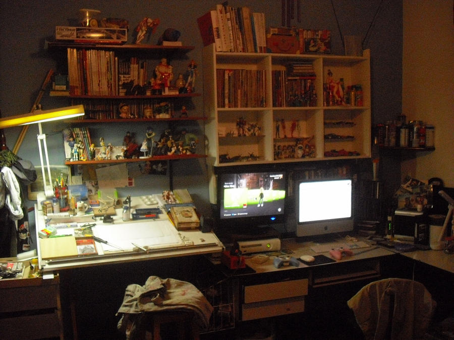 My work in home