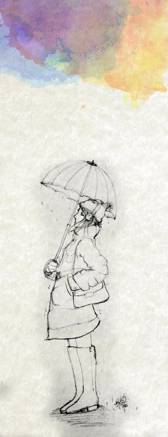raining by KamikasiNEO