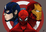 Captain America : Civil war Fanart