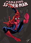 Amazing Spider-Man cover comic fanart