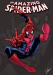 Amazing Spider-Man cover comic fanart