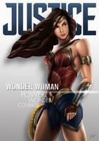 Wonder Woman movie fanart by tontentotza