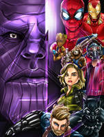 Avengers Infinity War Fanart Poster by tontentotza