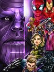 Avengers Infinity War Fanart Poster