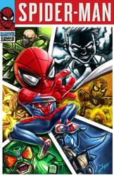 Spider-Man PS4 Fanart Comic cover