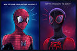 Spiderverse : When they meet each other