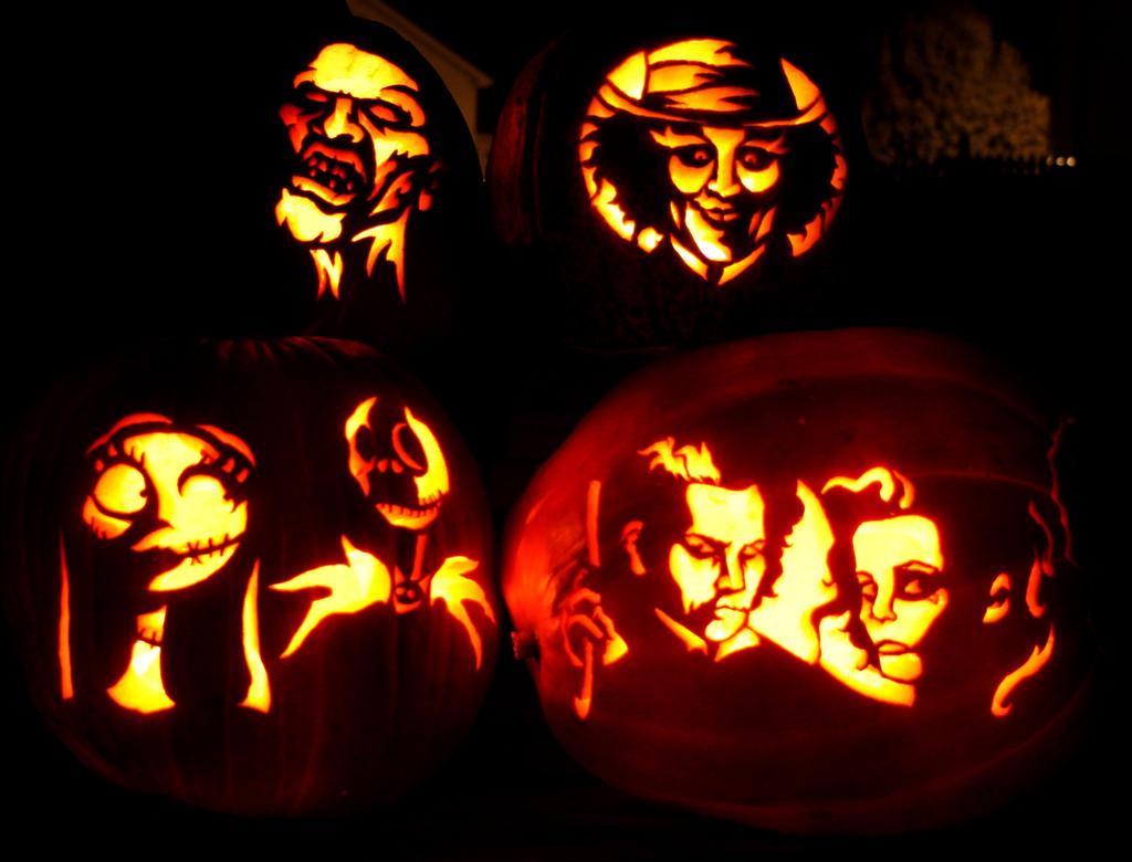 Halloween pumpkins by S3V4STR4
