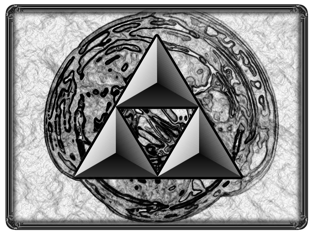 Dark Triforce by Strawberryshit