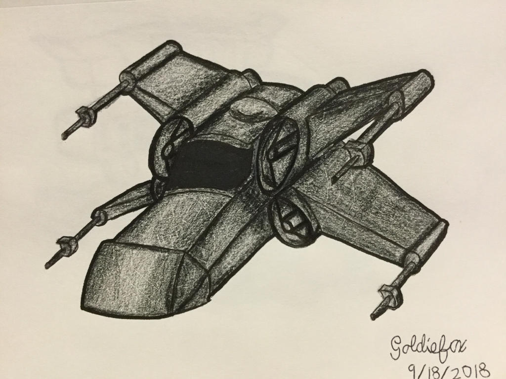 Star Wars T 65 Xj 3 Stealth X Chibi By Sweetiebot3000 On Deviantart