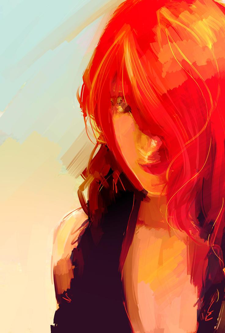 Selfportrait by BTRumple