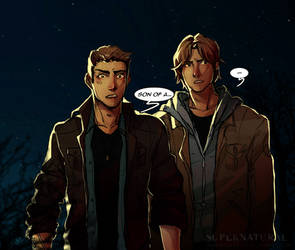 :SPN: there'll be peace when you are done