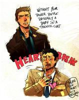 :SPN: Dean, his feelings by BTRumple