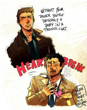 :SPN: Dean, his feelings